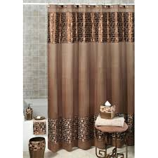 Curtains Pottery Barn by Image 3 Of The Product Large Floral Damask Print Shower Curtain