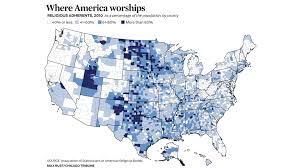 Chicago United States Map by Religion Census Chicago Tonight Wttw
