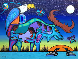 1st nations loon painting google search craft ideas
