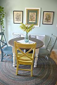 Kitchen Table Decorating Ideas 25 Best Small Round Kitchen Table Ideas On Pinterest Round
