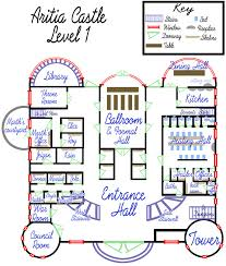 Floor Plan Castle Aritia Castle Floorplan Lvl 1 By Callistohime On Deviantart