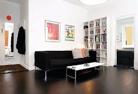 marvelous modern apartment living room ideas black brown top