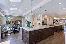 kitchen with 2 islands villa park stunning elegance 2 islands transitional kitchen