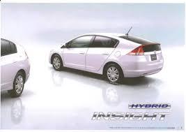 Honda Insight Hybrid Interior Leaked Brochure Scans Show Honda Insight Hybrid In Sporty Trim