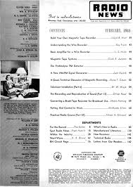 table of contents generator 1948 radio news table of contents rf cafe
