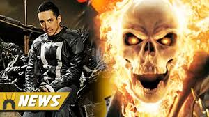 agents of shield ghost rider first look at costume u0026 details youtube