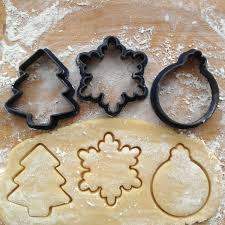 cookie cutters set of 3 snowflake cookie cutter tree