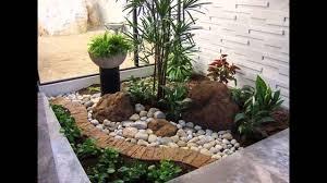 small rock gardens ideas exotic rock garden designs youtube