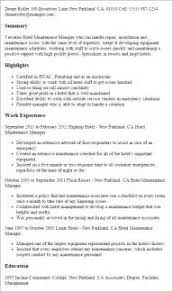 Aircraft Mechanic Resume Project Manager Resume Construction Build Acting Resume Online
