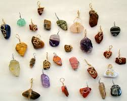 diy stone pendant necklace images Making stone and wire pendants void where prohibited jpg