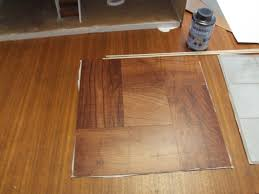 diy hardwood dollhouse flooring from vinyl tiles