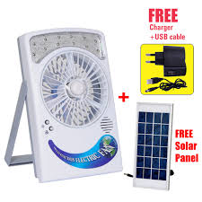 rechargeable fan online shopping buy all season portable rechargeable fan with powerful led light