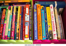 childrens books kids bookcase stock photos u0026 childrens books kids