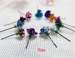 bottle necklace aliexpress images 8mm mini rose flower decoration for rice vial glass wishing bottle jpg