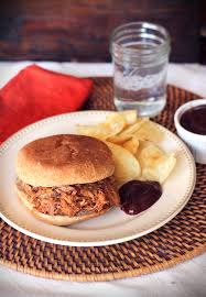 crockpot country style ribs pulled pork sandwiches healthy yummy