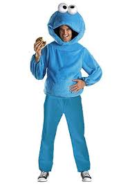 Sesame Street Halloween Costumes Adults Cookie Monster Costume Sesame Street Costumes