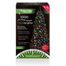 1000 led multi treebrights lights 7ft tree timer