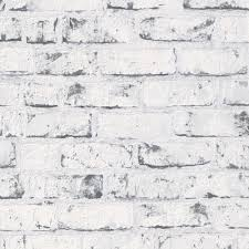 grey white 9078 37 brick effect distressed a s creation