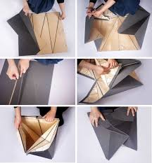 The Origami Inspired Folding Bamboo House Inhabitat Sustainable Design Innovation Eco - 66 best origami images on pinterest architecture cardboard