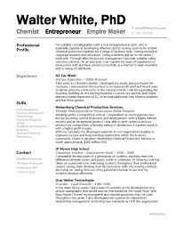 Sample Resume For Chemical Engineer by Chemist Sample Resume Haadyaooverbayresort Com