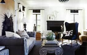 Living Room Curtains For Blue Room Interiors Furniture U0026 Design Living Rooms Elle Decor