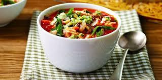 recettes de cuisine light des recettes de soupes light femme actuelle