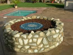Fire Pit Lava Rock by Turn Your Old Lava Rock Into A Modern Glass Fire Pit Our Fire