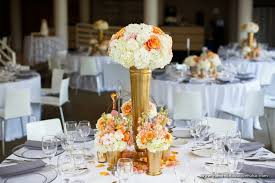 gold centerpieces the bouquet inspiring wedding event florals gold