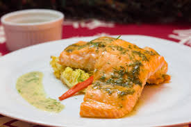 dill mustard baked grilled dill mustard salmon kid s play