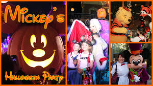 mickey u0027s halloween party a trip down memory lane