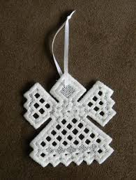 with needle and thread hardanger ornaments hardanger