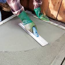 how do i get a smooth finish on kitchen cabinets how to finish concrete diy family handyman