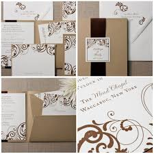 Pocket Folds Lovely And Gracious Pocket Fold Wedding Invitations From Minted Com