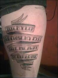longview lyrics tattoo