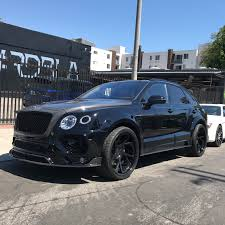 bentley bentayga render rdb la five star tires full auto center complete collision