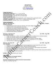 Sample Resume For Experienced Software Engineer Doc by Pl Sql Developer Sample Resume 3