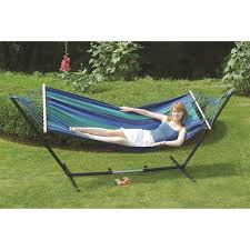 cayman u0027 double fabric hammock stand combo free shipping today