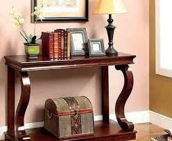 Cherry Wood Sofa Table Elegant Transitional Cherry 2 Drawer Accent Sofa Console Table W