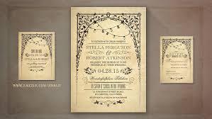 vintage style wedding invitations wedding invitations yourweek 1435c2eca25e