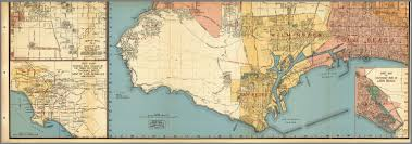 Long Beach Ca Map Los Angeles Streets Palos Verdes San Pedro Wilmington Long