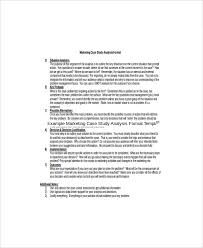 Marketing Reports Exles by 8 Marketing Study Templates Free Sle Exle Format