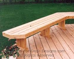 Building A Garden Bench Seat Building Benches For Your Deck You Can Do It
