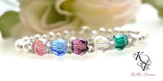custom birthstone bracelets custom birthstone bracelet bracelet grandmother