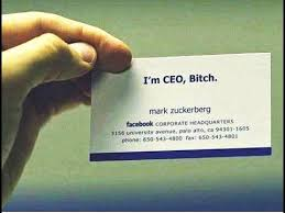 name card of the world ceos in information technology