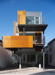 narrow modern house slim style narrow house is a masterpiece of fine modern design