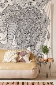 Wall Tapestry Urban Outfitters by Top 25 Best Elephant Tapestry Ideas On Pinterest Elephant Home