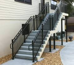 exterior staircase kits outdoor with precast concrete steps