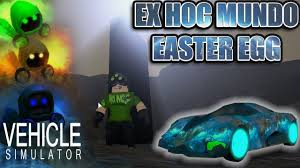 how to solve the easter egg in vehicle simulator roblox vehicle