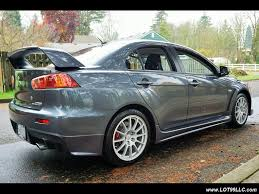 mitsubishi lancer evo 5 2008 mitsubishi lancer evolution gsr 65k 5 speed manual for sale