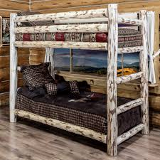 pine log bedroom furniture